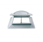 Stel uw lichtkoepel ventilatie dagmaat 70x70 cm samen