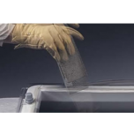 Lichtkoepels enkelwandig polycarbonaat in helder of opaal glas 100x230 cm.