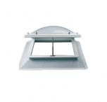 Stel uw lichtkoepel ventilatie dagmaat 160x160 cm samen