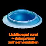 Lichtkoepel rond diameter 90 cm