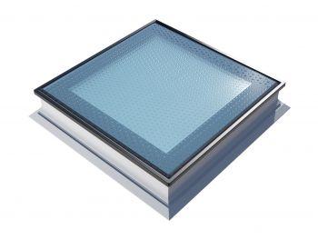 Platdakraam Intura PGX A5 120x120 cm beloopbaar glas