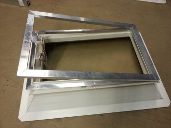 Ventilatie raam 110x110 cm
