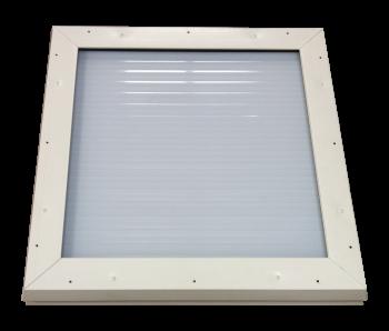 Lichtkoepel isolatie raamwerk 100x250 cm