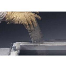 Lichtkoepels enkelwandig polycarbonaat in helder of opaal glas 40x40 cm.