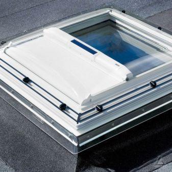 VELUX MSG solar buitenzonwering voor VELUX lichtkoepel en glaskoepel.