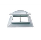 lichtkoepel ventilatie 80x80 met dak opstand