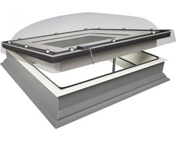 Lichtkoepel elektrische ventilatie fakro 80x80 cm