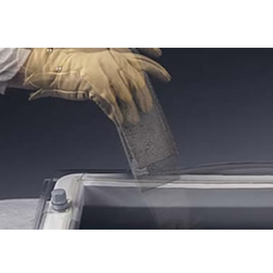 Lichtkoepel slagvast polycarbonaat dubbelwandig 130x130 cm.